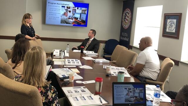 FLETA delivers a Fundamentals to IRS staff
