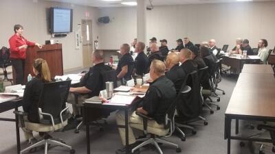 The FLETA OA delivered the Assessor Training Program at the Department of Veterans Affairs Law Enforcement Training Center