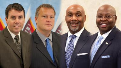 FLETA Executive Committee: Brian Peters, William Fallon, Domenic McClinton, and James Ward