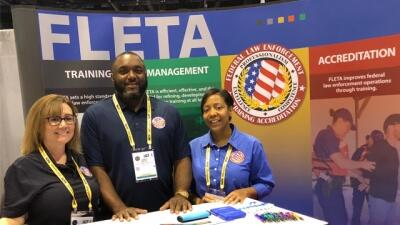 Representatives from the Office of Accreditation represent the FLETA Board at IACP