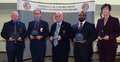 FLETA Staff are recognized during the FLETA Board meeting on November 20, 2014 for receiving the DHS Secretary's Award.