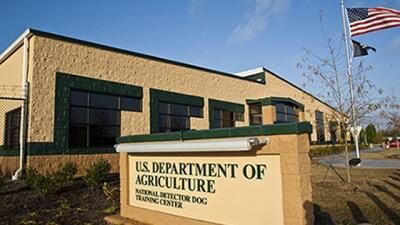 U.S. Department of Agriculture National Detector Dog Training Center