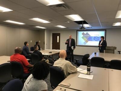 FLETA Program Manager teaching Fundamentals to the U.S. Postal Inspection Service