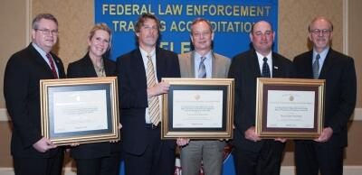 Mark Haucke, Ph.D.; Laureen Stephens-Rice; Tom Haycraft; Kevin Bauer, Director, DSS OTPS; Jim Sutton; Tim Parkman