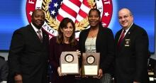 (pictured left to right) James Ward, Rhonda Meehan, Trina Harrison, and Joe Collins