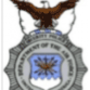 Security Police Department of the Air Force United States of America badge